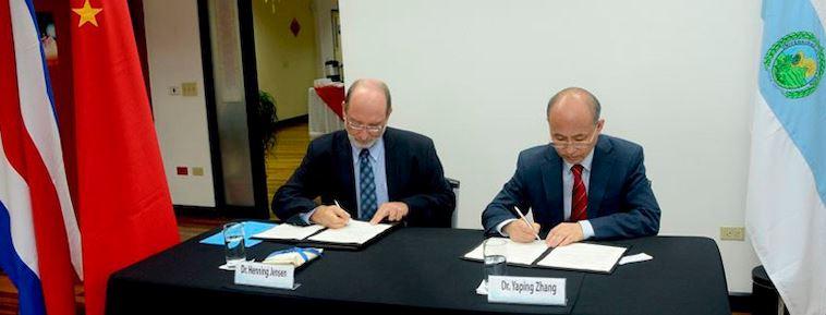 UCR fortalece la cooperación académica con universidades chinas