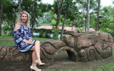 """Patricia Barquero: """"No le tengo miedo al trabajo, me encanta la UCR y aunque haya salido a estudiar fuera del país, esta Universidad es mi alma máter"""""""