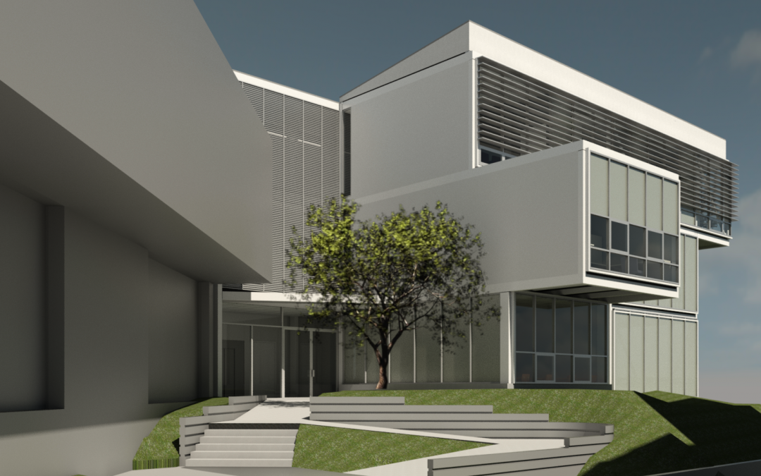 Escuela de lenguas Modernas inicia construcción de edificio anexo